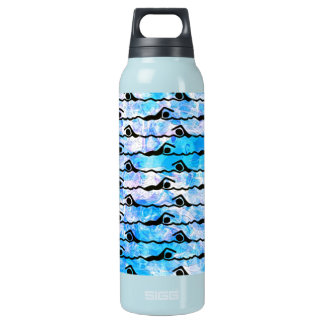 SWIMMING INSULATED WATER BOTTLE