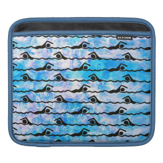 SWIMMING iPad Sleeve