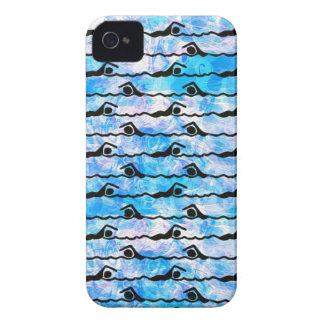 SWIMMING iPhone 4 Case-Mate Case