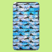 SWIMMING iPod Touch Case-Mate Case
