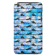 Swimming Ipod Touch Case-mate Case at Zazzle
