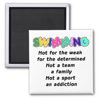 Swimming is for the determined magnets