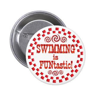 Swimming is FUNtastic Pin
