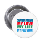 Swimming is my Passion Pin