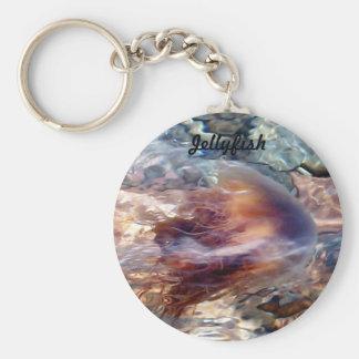 Swimming Jellyfish Key Chain