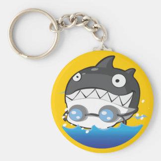 Swimming Keychain