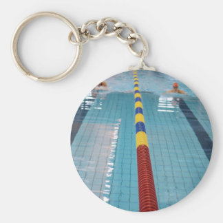swimming keychain