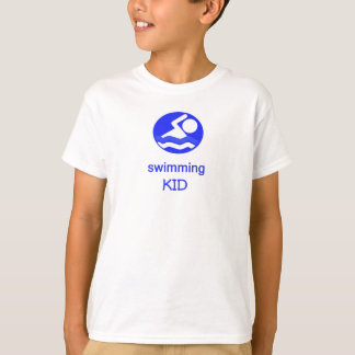 Swimming Kid T-Shirt