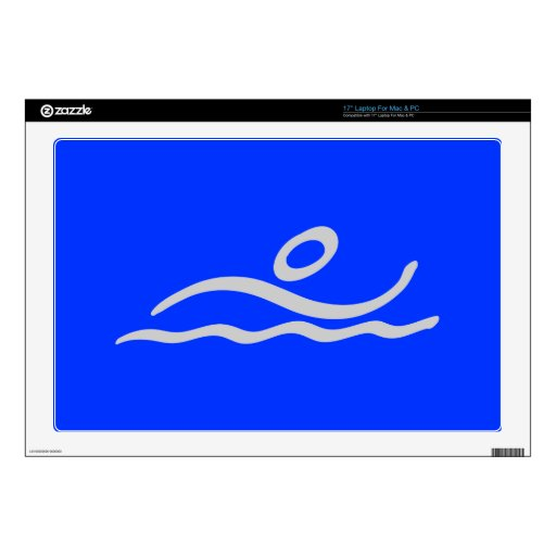 Swimming Laptop Decals