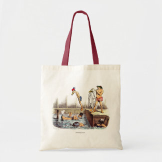 Swimming Lessons Canvas Bags