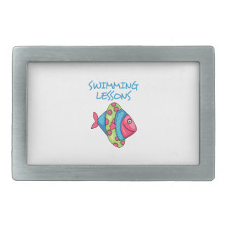 SWIMMING LESSONS BELT BUCKLES