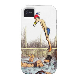 Swimming Lessons iPhone 4 Cases
