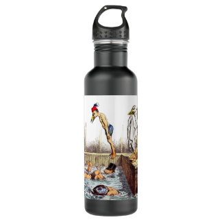 Swimming Lessons 24oz Water Bottle