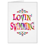 Swimming Lover Greeting Card