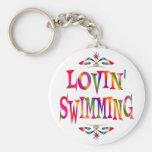 Swimming Lover Key Chain
