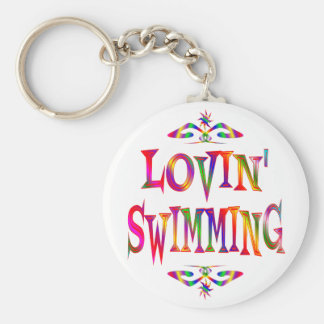Swimming Lover Keychain