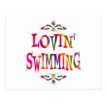 Swimming Lover Postcards
