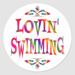 Swimming Lover Stickers