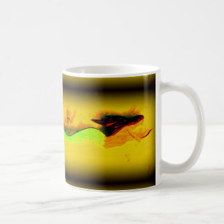 swimming mermaid coffee mug