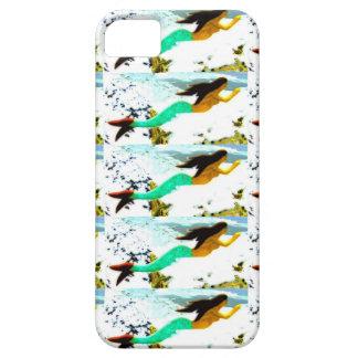 swimming mermaid pattern iPhone SE/5/5s case