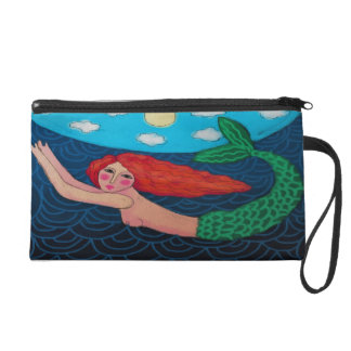 Swimming Mermaid Wristlet