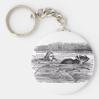 Swimming Mouse Key Chain