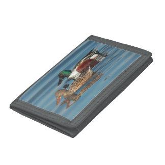 Swimming Northern Shovelers Wallet