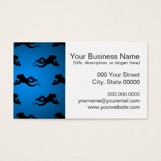 Swimming Octopus Silhouettes Business Card
