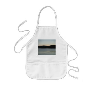 Swimming off into the Sunset Kids' Apron