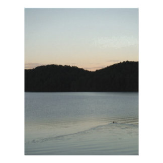 Swimming off into the Sunset Letterhead