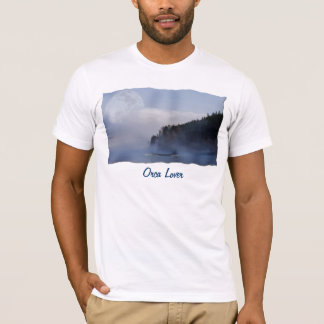 SWIMMING ORCA & SUPER MOON Fashion T-Shirt