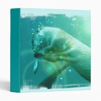 Swimming Otter Binder