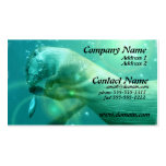 Swimming Otter Business Card