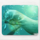 Swimming Otter Mouse Pad