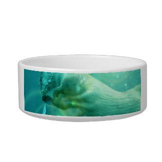 Swimming Otter  Pet Bowl