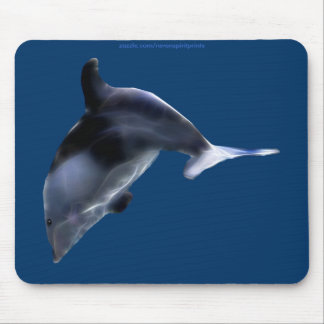 SWIMMING PACIFIC DOLPHIN Art Mousepad