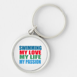 Swimming Passion Keychain