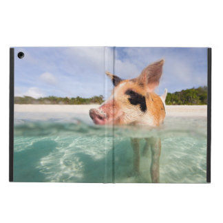 Swimming pig of Exuma iPad Air Case