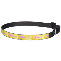 swimming pink mermaids pet collar