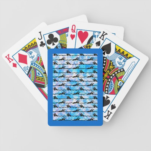 SWIMMING Playing Cards Bicycle Playing Cards