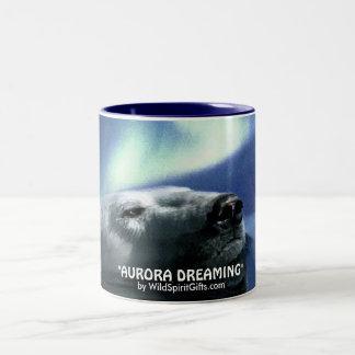 SWIMMING POLAR BEAR Coffee Cup Mugs