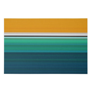 Swimming Pool Abstract Faux Canvas Print