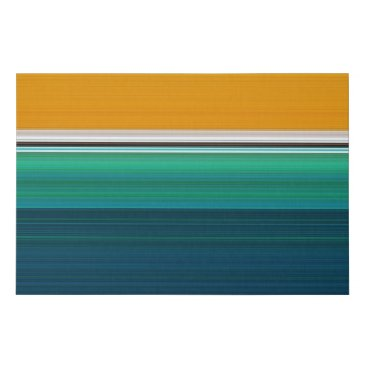 Art Themed Swimming Pool Abstract Faux Canvas Print