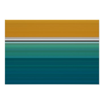 Art Themed Swimming Pool Abstract Poster