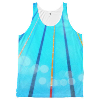Swimming Pool All-Over Tank Top
