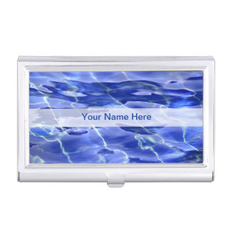 Swimming Pool Business Card Holder