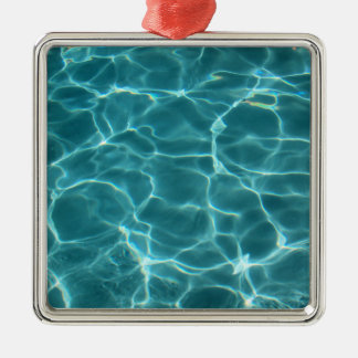 Swimming Pool Christmas Ornament