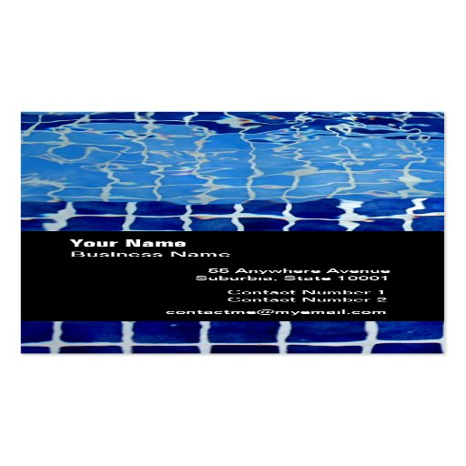 A Sample Pool Cleaning Business Plan Template