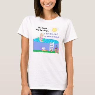 Swimming Pool Humor T-Shirt