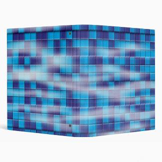 Swimming Pool Mosaic 3 Ring Binder